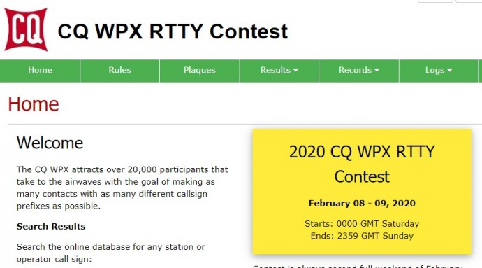 CQ World-Wide WPX RTTY Contest